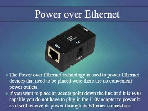 POE injector | ethernet switch | power over ethernet | ethernet splitter