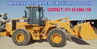 WHEEL LOADER CAT 938G YEAR 2006 Hrs 26,242 FOR SALE IN UAE