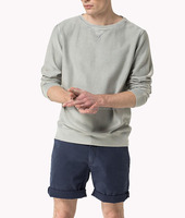 Beautiful Design casual look knitted sweatshirt/textured cotton tee with Long sleeves,Ribbed collar, cuffs and hem