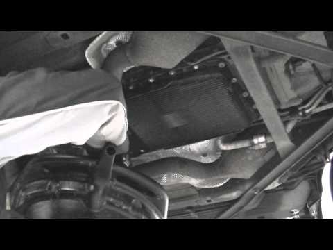 Changing the transmission filter and fluid on a ZF 6hp26 automatic - Jaguar