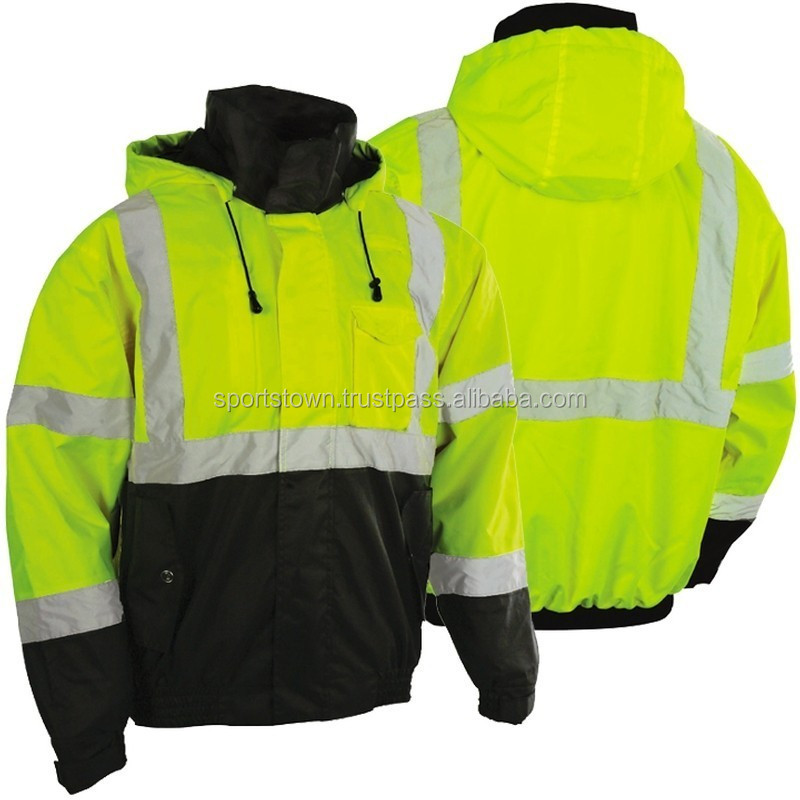 Green Safety Reflective Jacket, Green Safety Reflective Jacket ...