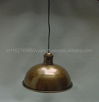 Antique Brass Metal Pendant Lamp