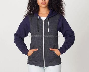 15d0b486951e65 Cotton Polyester Purple Plain Blank Sweat Suit Crop Hoody Cropped Top Hoodie