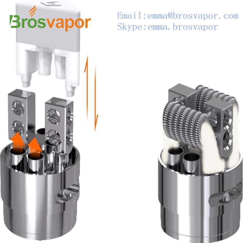New product Kennedy style bottom airflow GeekVape griffin 25 plus RTA