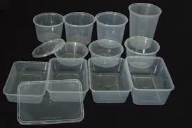 Microwavable Pp Container With Lid For