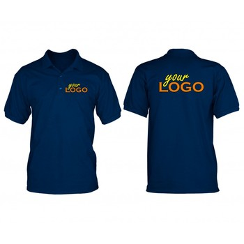 Custom Logo Printed Polo Shirts Event Promotion Polo