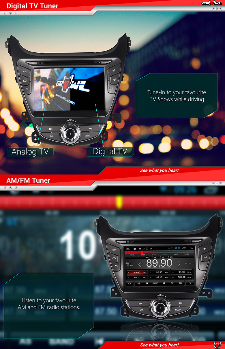Growl Audio Android Oem Head Unit For Ford Focus Buy
