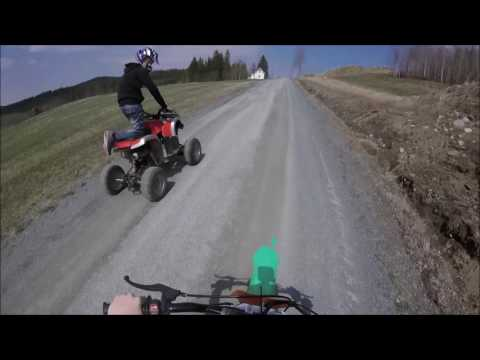 pit bike 125cc atv 110cc driving