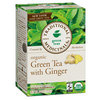 Organic Green Tea with Ginger, 16 Bags by Traditional Medicinals Teas