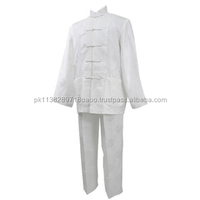 Martial arts clothing imitated silk kung fu uniform