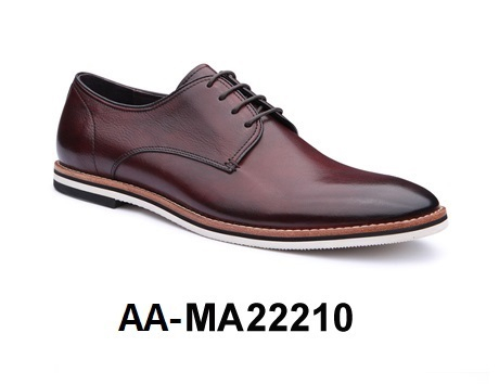 AA MA22210 Men's Shoe Leather Dress Genuine wOZ0xZ