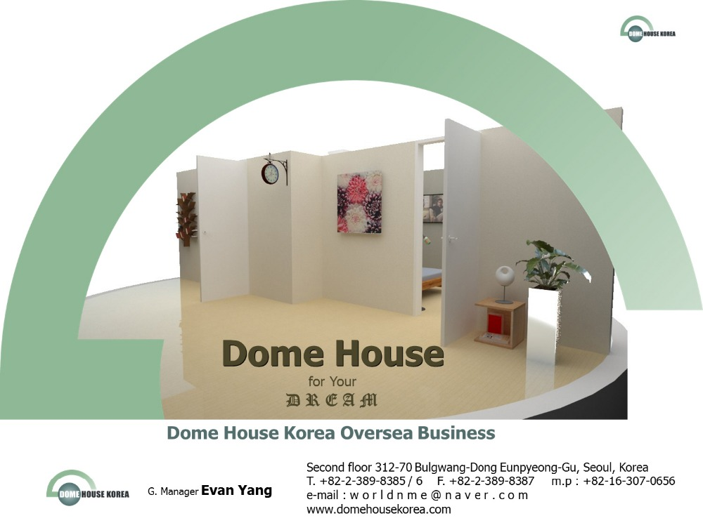Dome House Greenhouse New Materials Eps Expanded