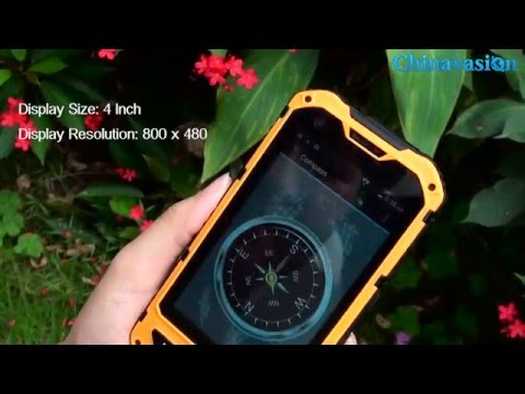 4 Inch Rugged Smart Phone with NFC Review - How does this Rugged Phone Work?