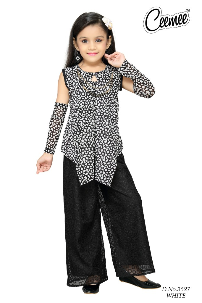 d66337511 Latest Stylish Girls Dresses -plazo Suit - Buy Girls Casual Plazzo ...