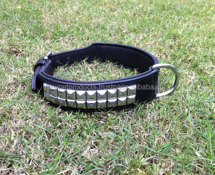 Button Spike Dog Neck Collar