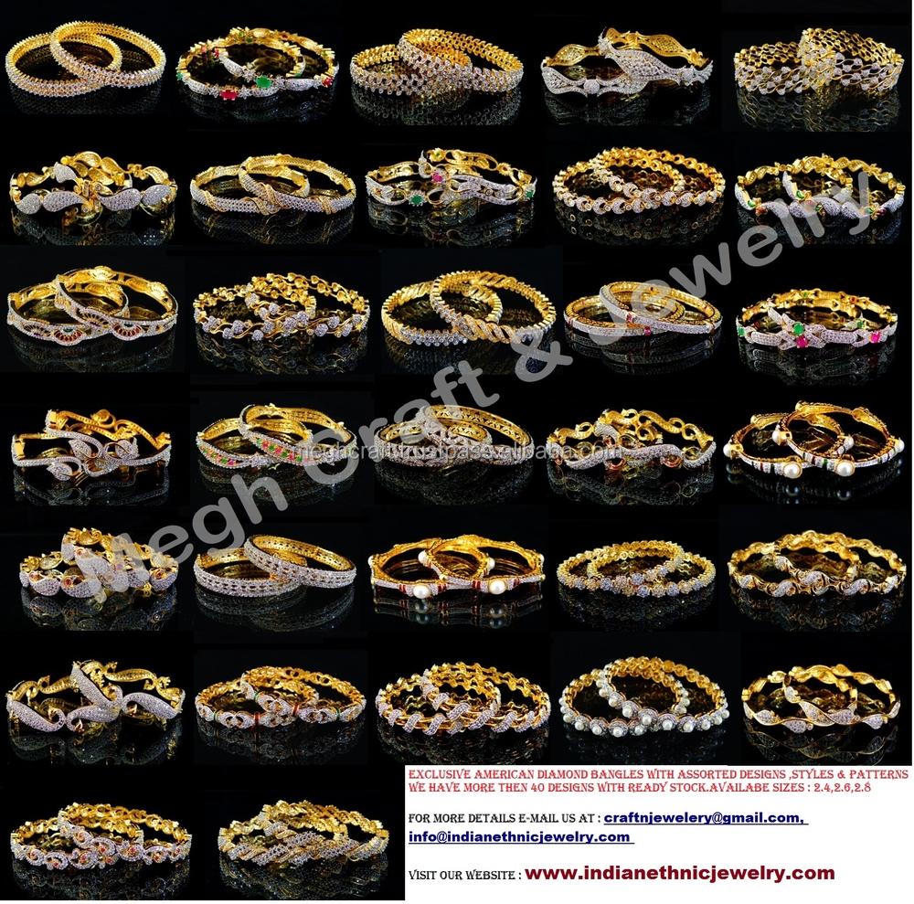 wholesale american diamond bangle wholesale indian cz