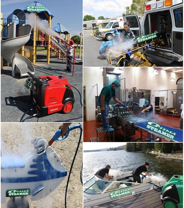 Optima Steamer Steam Car Wash Business