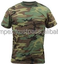 Custom design blank sublimation printing camo t shirts for Custom t shirts camouflage
