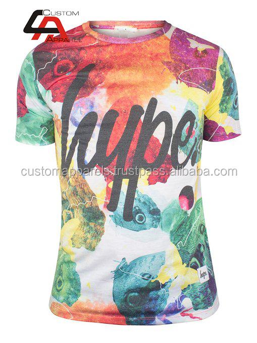 b8dcbf2cd Latest 3D Plain cotton t shirts & tops for girls/dye sublimation print,mens