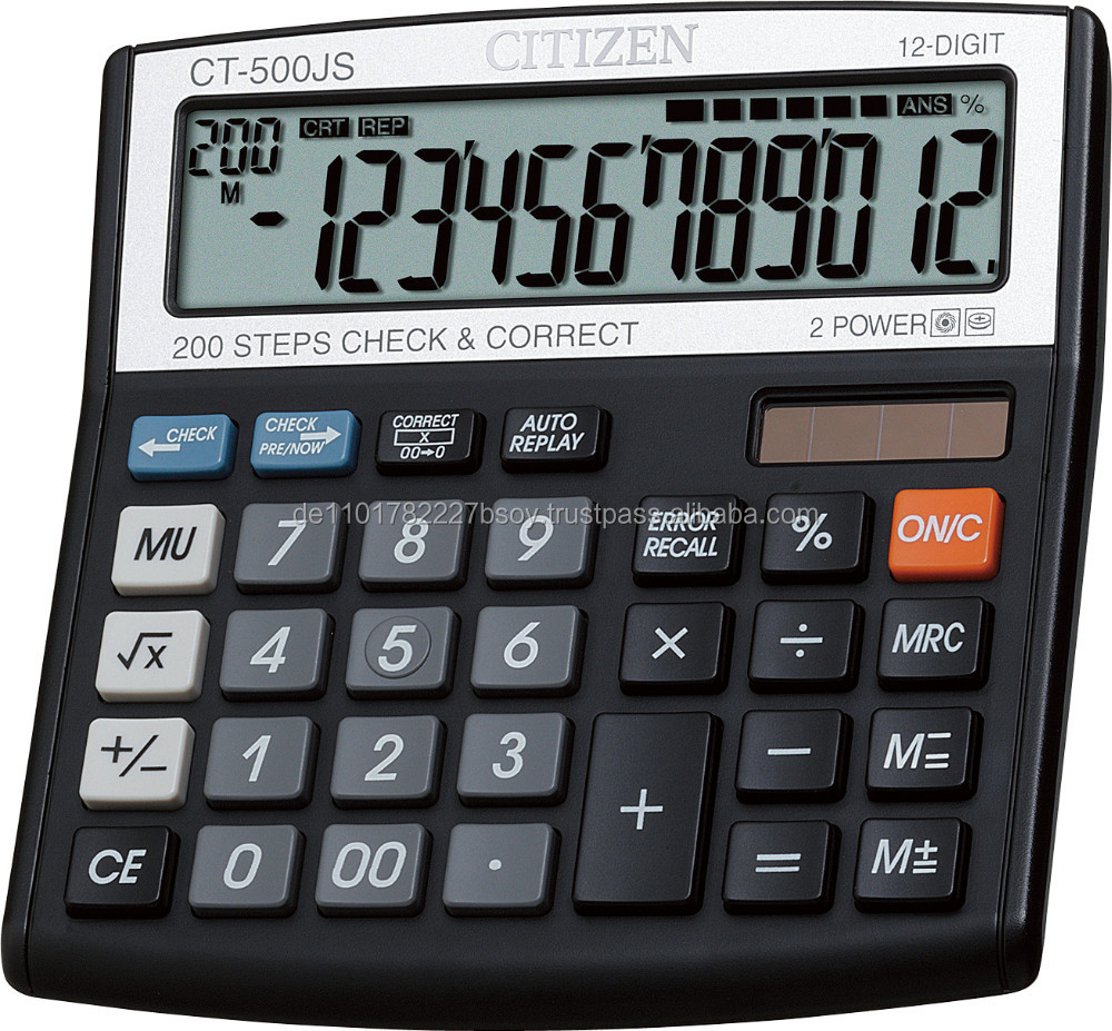 Germany Solar Calculator Manufacturers And Citizen Suppliers On