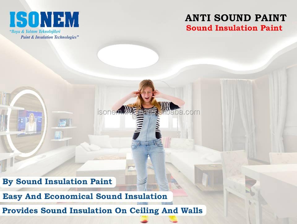 isonem anti sound paint sound insulation and sound proof. Black Bedroom Furniture Sets. Home Design Ideas