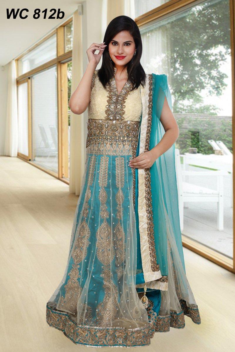 Famous Wedding Anarkali Suits Designs Pattern - All Wedding Dresses ...