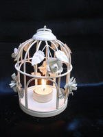 Christmas Decoration Glass Candle Jars Birthday Candle Holders