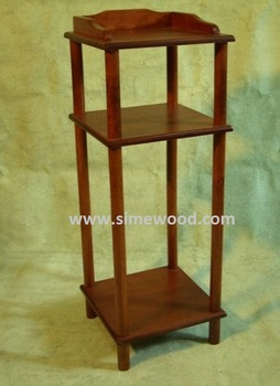 3 Tier Phone Rack, Side Table, Corner Table, Bedside Table, Wooden