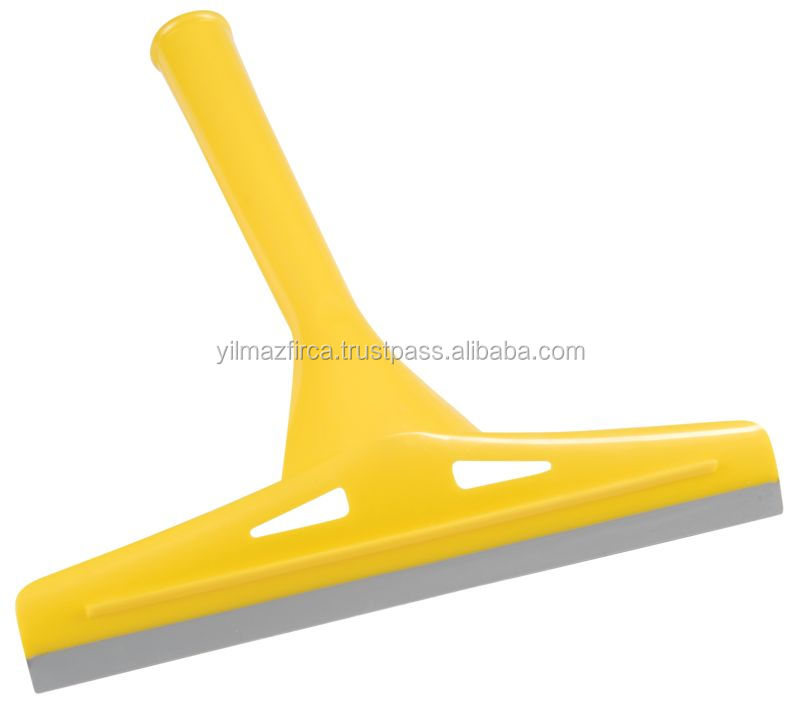 plastic cleaning glass or window wiper / squeegee