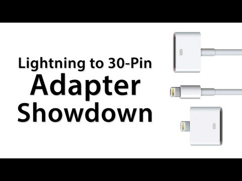 Lightning To 30-Pin Adapter Comparison / Review - Which Lightning Adapter Do You Need?