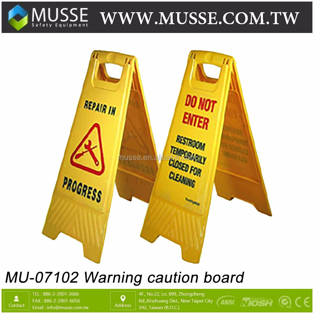 professional wet hazard caution cleaning product slippery floor sign warning safety
