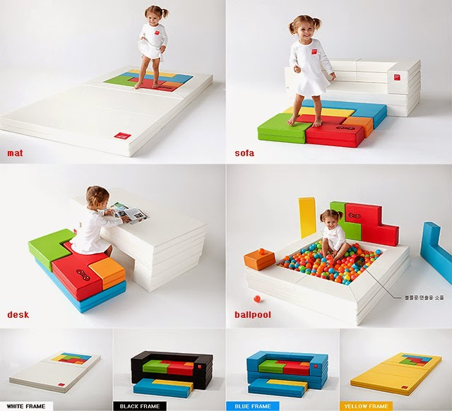 Portable Foldable Baby Climbing Play Mat Xpe Puzzle