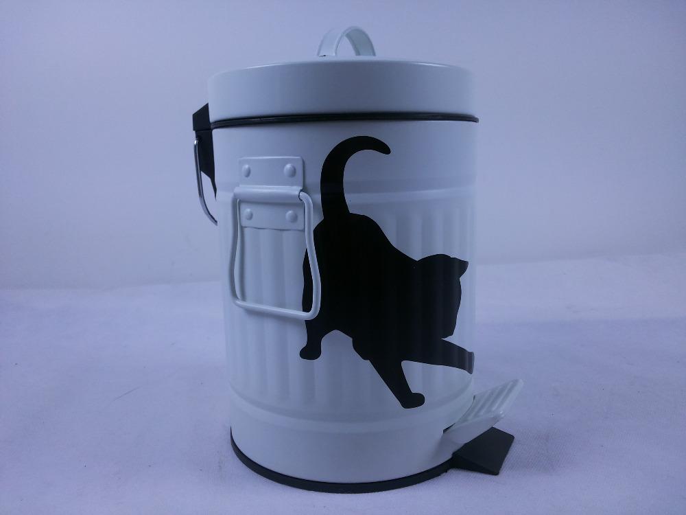 Rvs Pedaalemmer Badkamer : L crème retro staal afval afval mini pedaalemmer voor keuken en