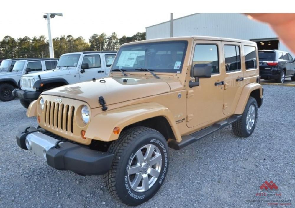 Nuevo Jeep Wrangler Unlimited Sahara Edición-disponibles En Stock Y ...