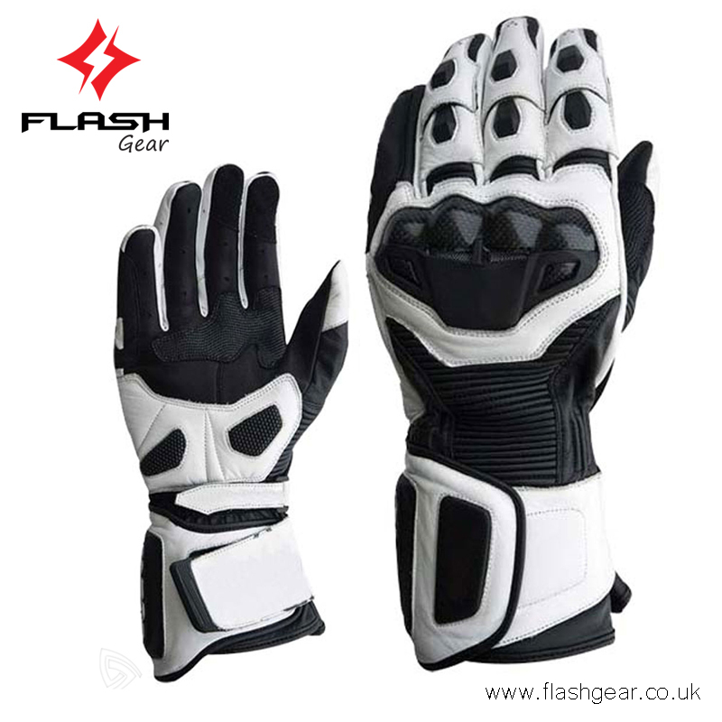 Hi Fi Motorcycle Riding Gloves,Carbon Fiber Protected Vintage ...