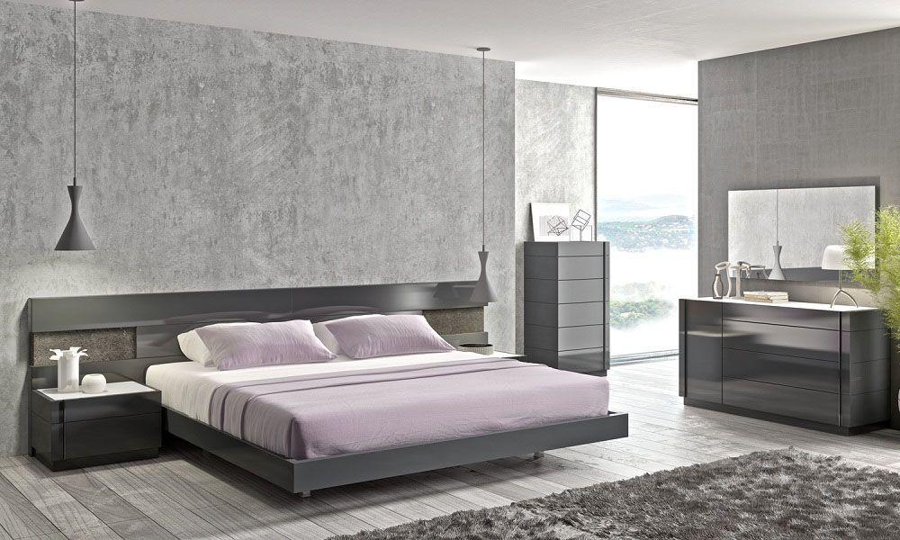 Black On Grey Minimalist Bedroom Design - Buy Bedroom Furniture,Minimalist  Bedroom,Interior Design Bedroom Product on Alibaba.com