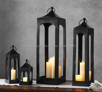 Wholesale Home Decoration Hanging Metal Lantern
