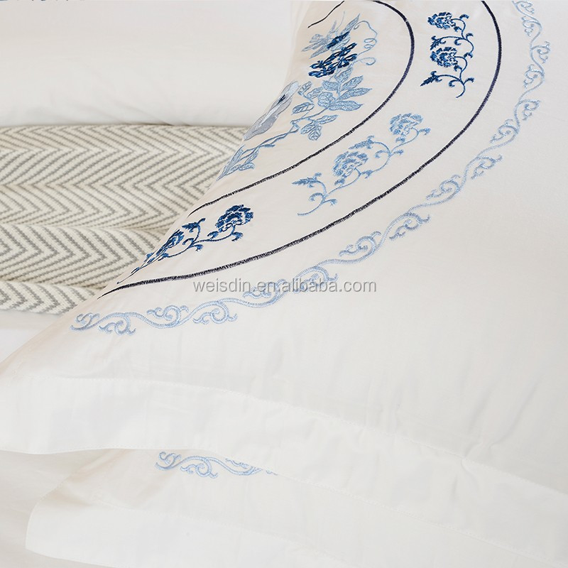 Latest Designs Bed Linen Embroidered 100 Cotton
