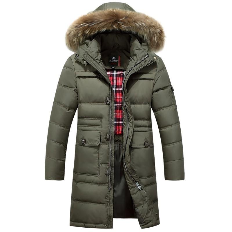 Ladies Long Padded Coat Waterproof Jacket Down Quilted Jackets ...