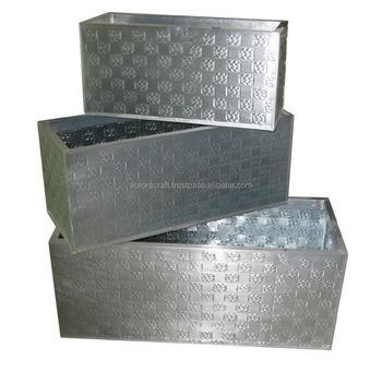 Zinc Planters ( Galvanized Steel ) - Buy Vietnam Zinc Planters For on zinc trough planter, zinc planter trays, zinc finish,