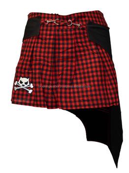 Vampire Skirt Black Red Bats Skulls Alternative Clothing Emo Gothic Horror  Punk - Buy Goth Ladies Skirt,Ladies Skirt,Gothic Skirt Product on