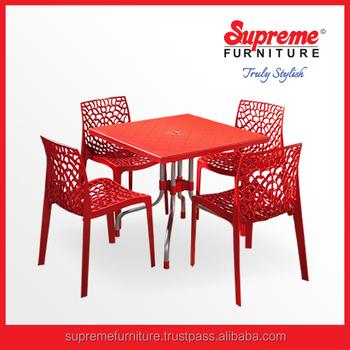 Sedie E Tavoli Di Plastica.Plastica Ristorante Sedie E Tavoli Plastica Resina Mobili Bistro