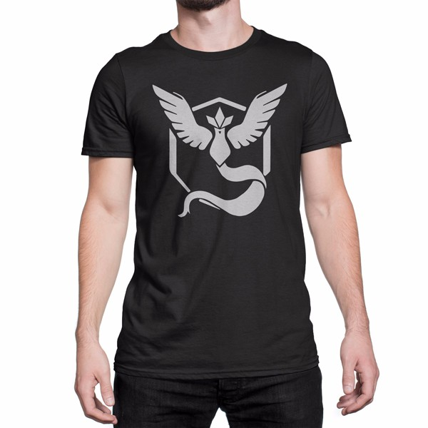 2a1f0fea Pokemon Team Mystic Vynal Custom Design Graphic Cotton Men's T-shirt ...