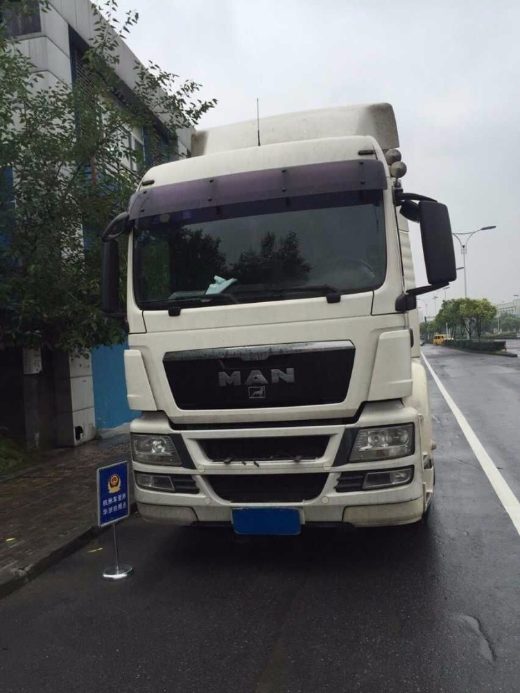 Used Man trator truck