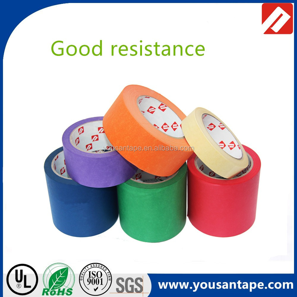 High adhesion brand new promotional washi paper single sided red tape