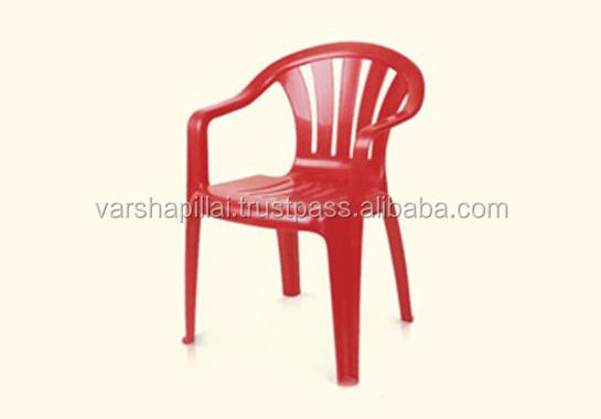 Pas cher en plastique chaise avec bras chaises de salle - Chaise en plastique pas cher ...