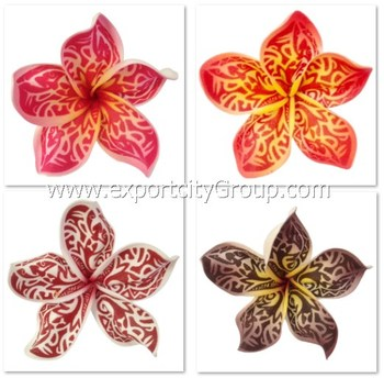 Hawaien Mousse Fleur Plumeria Tribal Tatouage Impression Ka 4