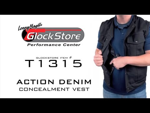Action Denim Vest