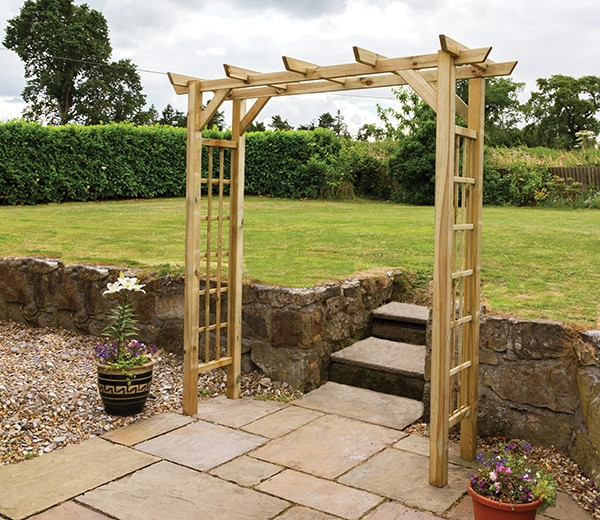 Garden Arch Buy Garden Wooden Arch Product on Alibabacom