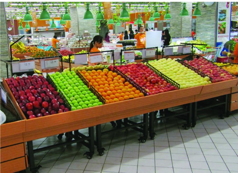 Scaffali Usati Per Negozio Di Frutta E Verdura.Telaio In Acciaio Scaffalatura Gondola Supermercato Negozi Di Alimentari Usato Scaffali Per La Vendita Buy Scaffale Del Supermercato Utilizzati